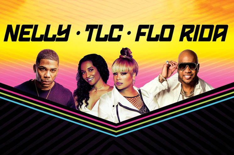 ​Nelly, TLC and Flo Rida Announce Joint Summer Tour