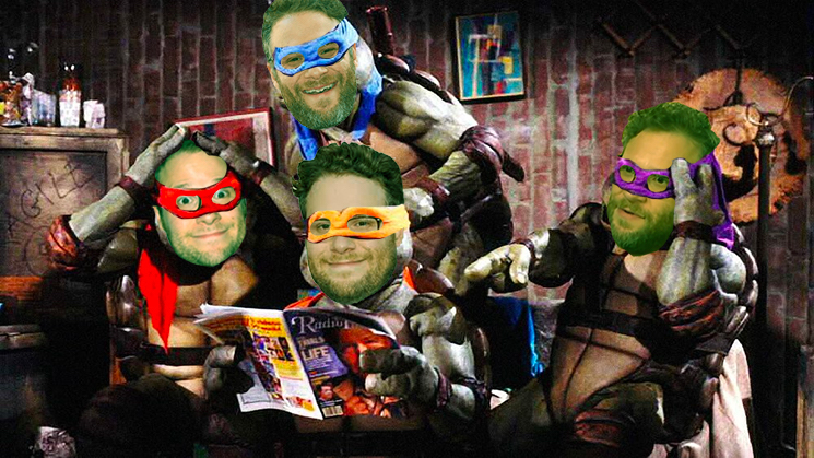Seth Rogen Is Making His Own 'Teenage Mutant Ninja Turtles' Movie