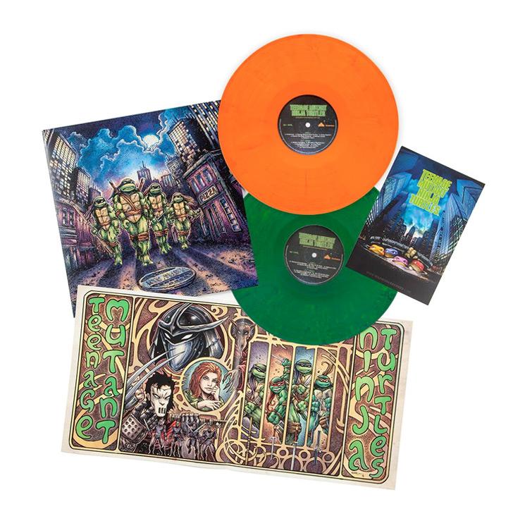 'Teenage Mutant Ninja Turtles' 1990 Film Soundtrack Gets Vinyl Reissue by Waxwork