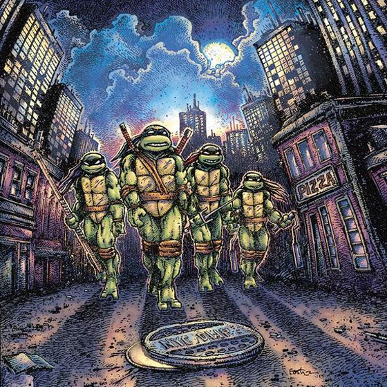 John Du Prez Teenage Mutant Ninja Turtles (Original Motion Picture Soundtrack)