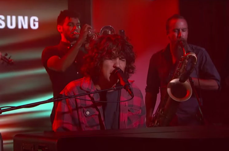 "Tobias Jesso Jr. ""Crocodile Tears"" (live on 'Kimmel)"