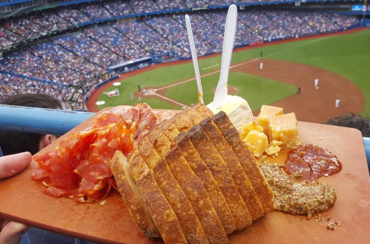 ​Toby from 'Degrassi' Has Been Bringing Ridiculous Snacks to Blue Jays Games
