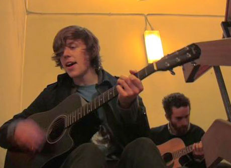 Tokyo Police Club 'Wait Up (Boots of Danger)' (acoustic version) (video)