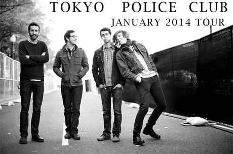 Tokyo Police Club Return with Canadian Dates