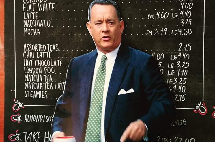 ​Toronto's Grinder Coffee Wants Tom Hanks to Visit During TIFF
