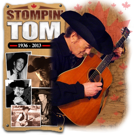 Stompin' Tom Connors Dies at 77