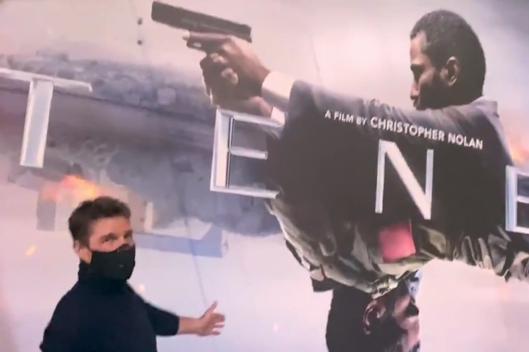 Tom Cruise Saw 'Tenet' in a Packed Theatre and Loved It