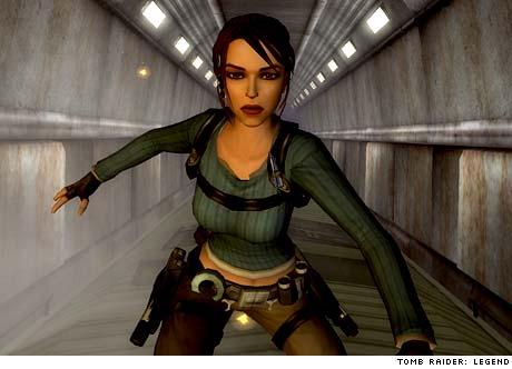 Tomb Raider Pixel Chicks