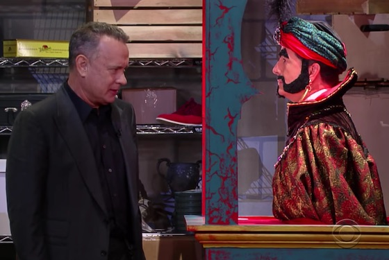 Watch Tom Hanks Plead with Zoltar to Make Him 30 Again