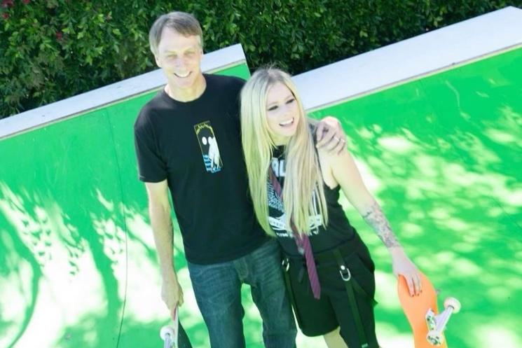 Avril Lavigne Launches Her Own TikTok with 'Sk8er Boi' Video Featuring Tony Hawk