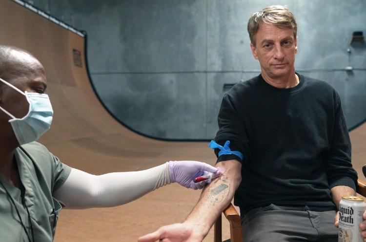 Tony Hawk Puts Blood, Sweat and Tears into New Skateboard Collab