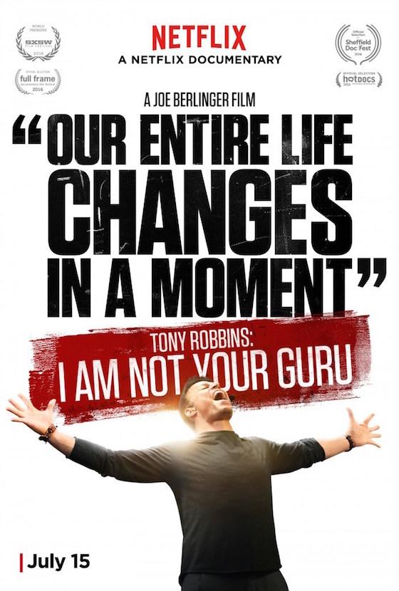 Tony Robbins: I Am Not Your Guru Trailer