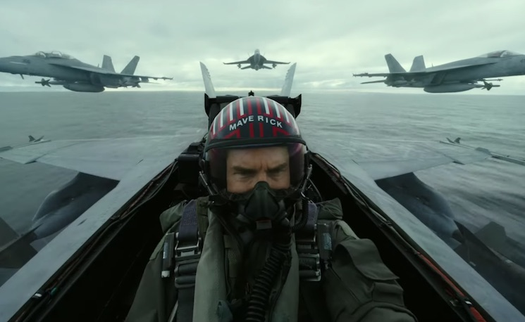 Watch Tom Cruise in the First Trailer for 'Top Gun: Maverick'