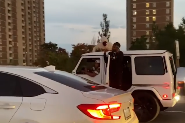 Toronto Rapper Top5 Stops Traffic on Highway 401 to Film Music Video