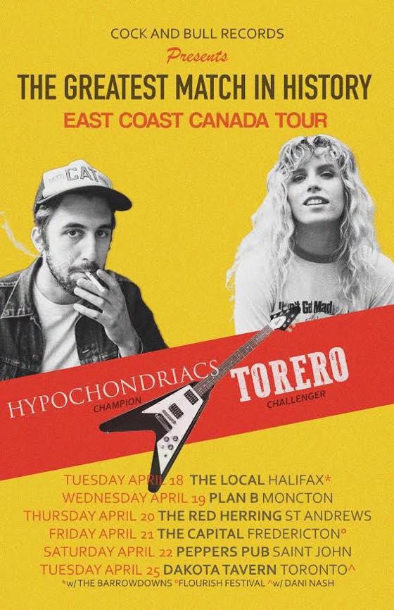 Torero Plot Tour of Eastern Canada, Premiere 'Canyon' Video
