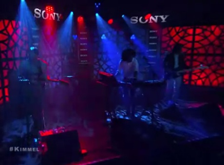 "Toro y Moi ""Say That"" / ""Rose Quartz"" (live on 'Kimmel')"