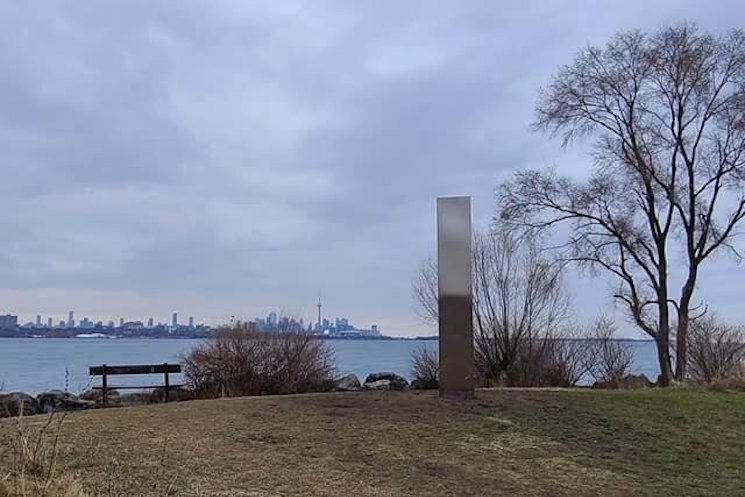 Toronto Gets Its Own 'Space Odyssey'-Style Monolith