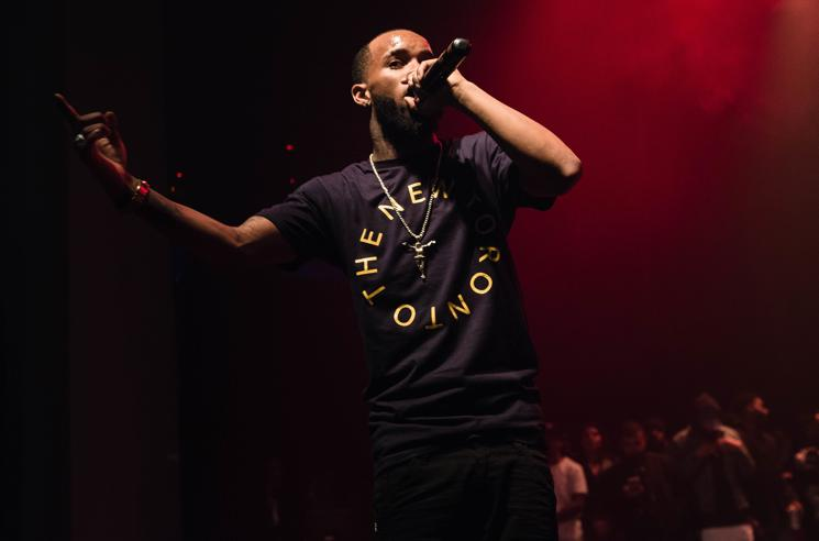 Tory Lanez Punches Fan at Toronto Show