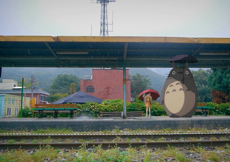 Watch Classic Studio Ghibli Scenes Inserted into Real Life