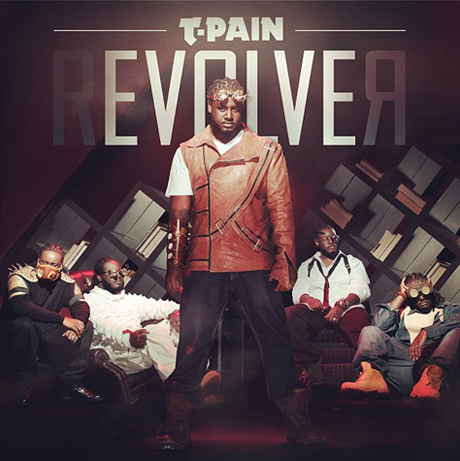 T-Pain Enlists R. Kelly, Lil Wayne, Chris Brown for 'rEVOLVEr'
