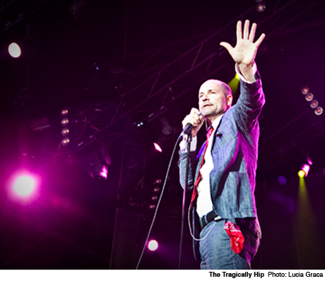 The Tragically Hip Map Out Canadian Summer Tour Dates