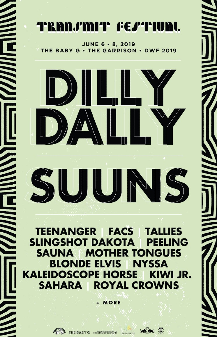 Dilly Dally, Suuns, Teenanger to Play Toronto's Inaugural Transmit Festival