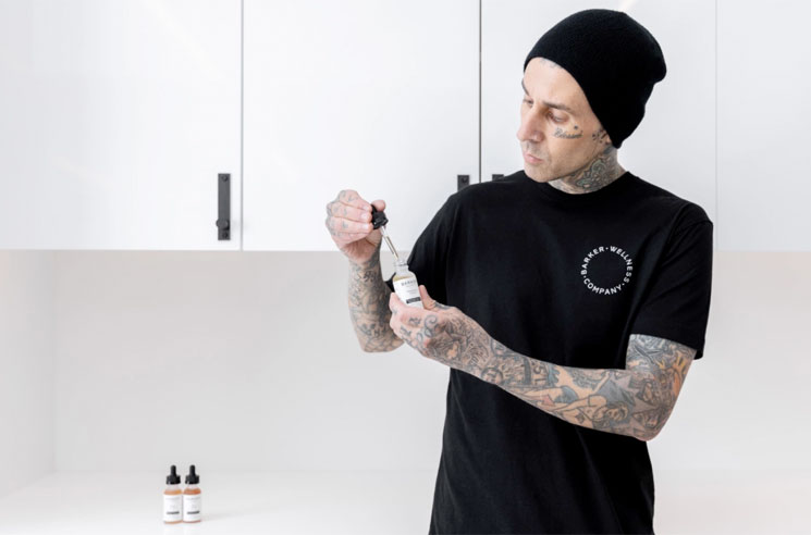 Blink-182's Travis Barker Launches His Own CBD Wellness Brand