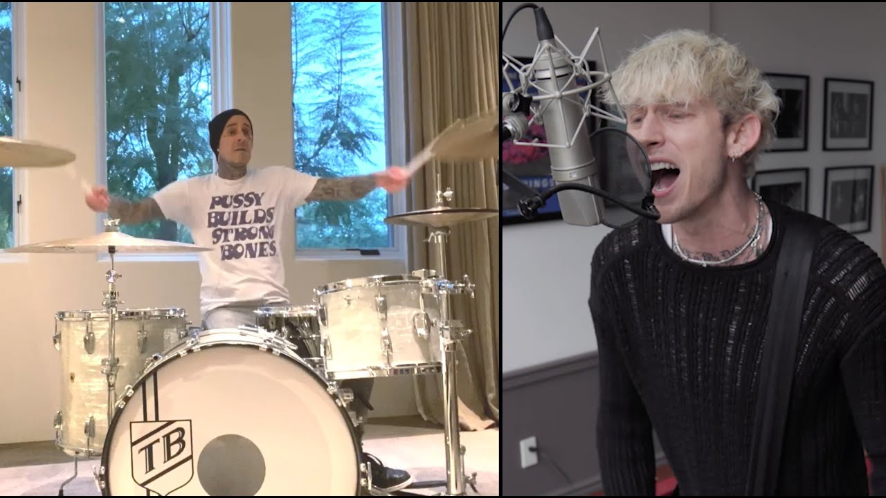 "Machine Gun Kelly and Travis Barker Just Covered Paramore's ""Misery Business"" for Some Reason"