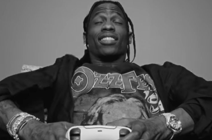 Here's the Real Reason Travis Scott Has a PS5 Before Everyone Else