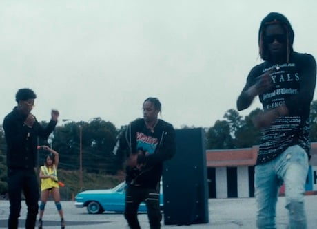Travi$ Scott 'Mamacita' (video ft. Rich Homie Quan and Young Thug)