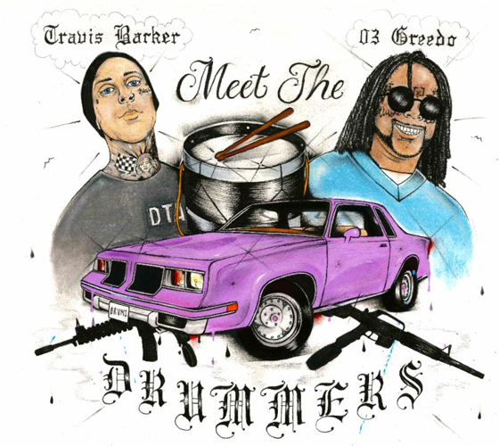 Travis Barker and 03 Greedo Team Up for New EP