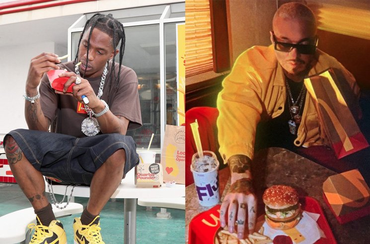 McDonald's Denies Travis Scott and J Balvin Partnerships Were to Distract from Discrimination Lawsuits