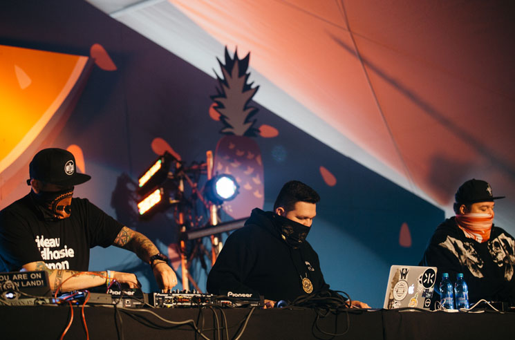 A Tribe Called Red Rifftop Tent, Victoria BC, September 18