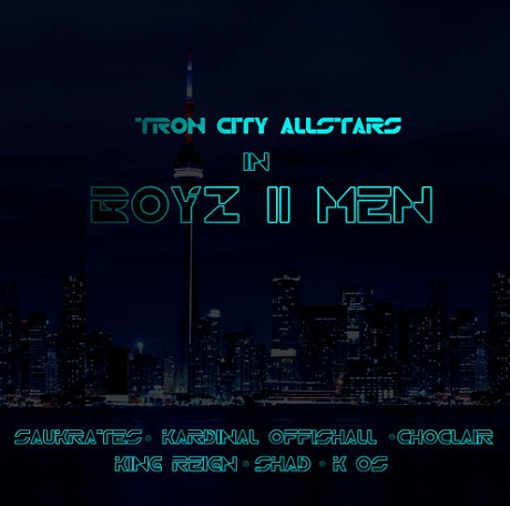 "K-os, Saukrates, Kardinal Offishall, Choclair, King Reign and Shad ""Boyz II Men (LouieCK dirty)"""