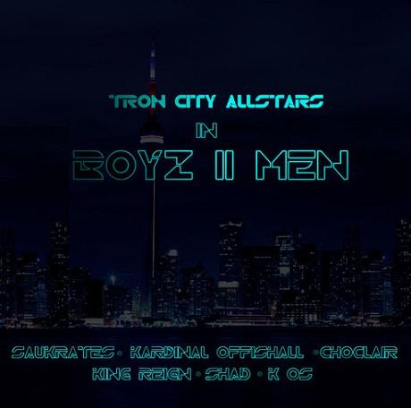K-os, Saukrates, Kardinal Offishall, Choclair, King Reign and Shad 'Boyz II Men (LouieCK dirty)'