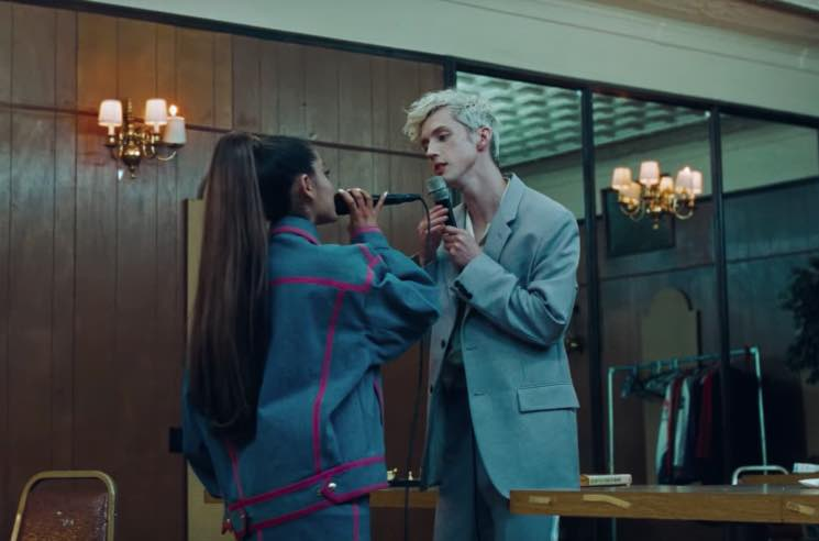 "​Troye Sivan and Ariana Grande Unveil ""Dance to This"" Video"