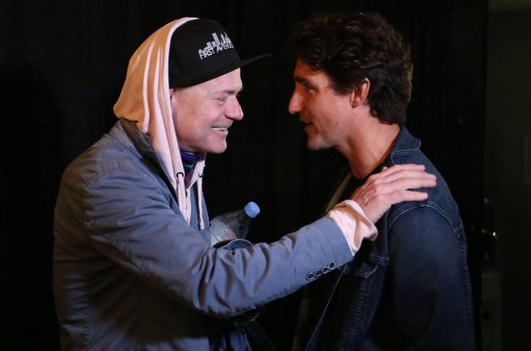 ​Gord Downie Calls On Justin Trudeau to Repair Relationship with First Nations