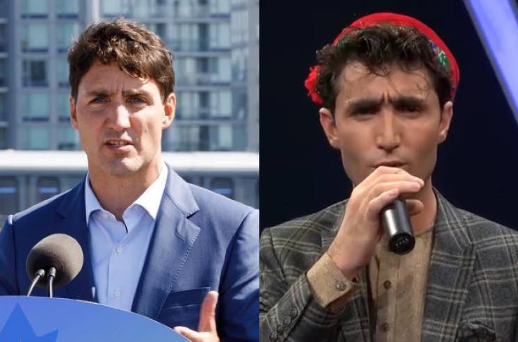 There's a Justin Trudeau Doppelganger Competing on an Afghan Singing Show