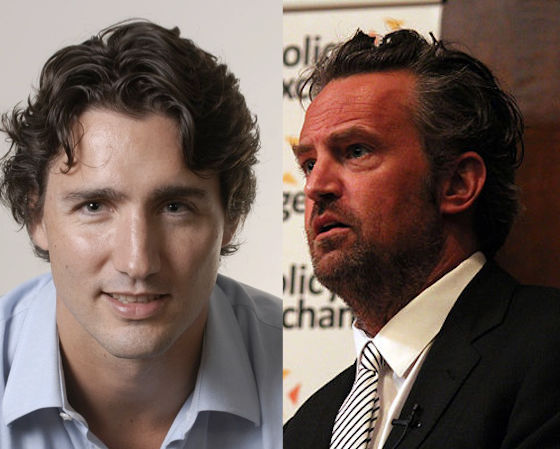 Matthew Perry Bullied Justin Trudeau in Elementary School