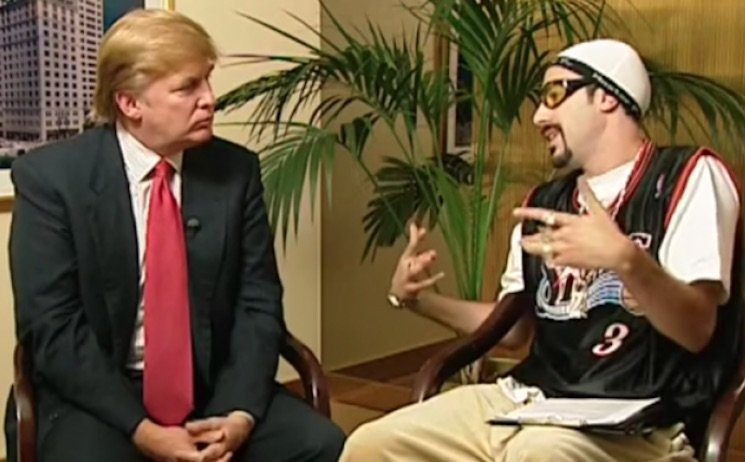 Ali G Praises Donald Trump in a New Message (Through Sacha Baron Cohen)