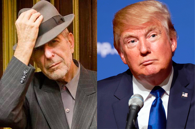 Everyone's Mad at Donald Trump for Playing Leonard Cohen's 'Hallelujah' at the Republican National Convention