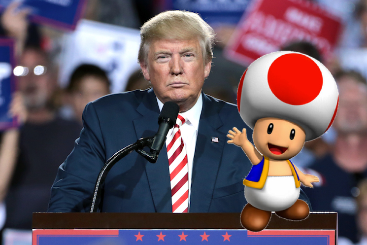 Stormy Daniels Has Compared Donald Trump's Penis To Toad From Mario Kart