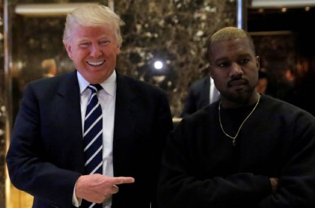 Black Male Support for Donald Trump Doubled After Kanye West's Rant