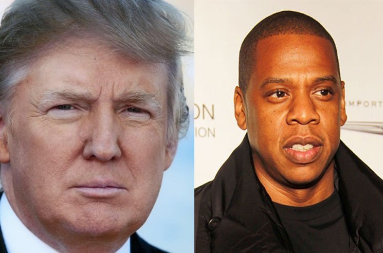 Donald Trump Is Feuding with JAY-Z