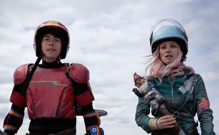 Turbo Kid François Simard, Anouk Whissell and Yoann-Karl Whissell