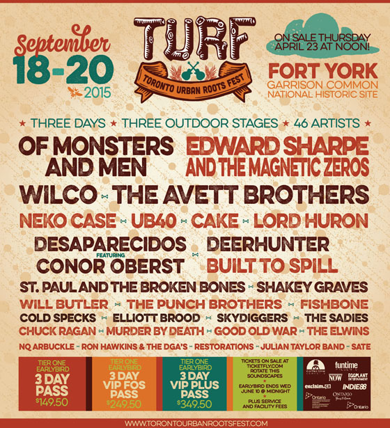 TURF Adds Ron Sexsmith, Royal Canoe, Grand Analog