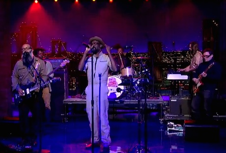 TV on the Radio 'Happy Idiot' (live on 'Letterman')