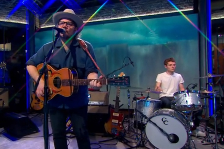 Tweedy 'Wait for Love' / 'Low Key' (live on 'CBS This Morning')