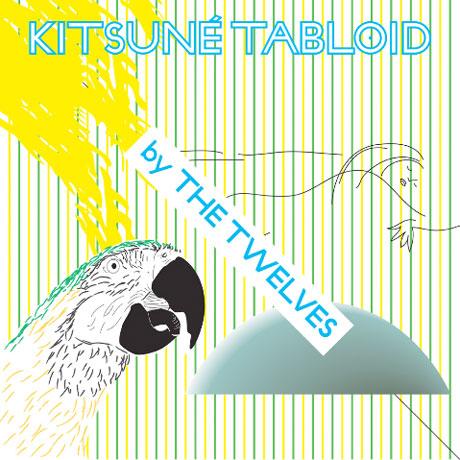 The Twelves Line Up 'Kitsuné Tabloid' Comp Featuring Ratatat, Metric, Twin Shadow