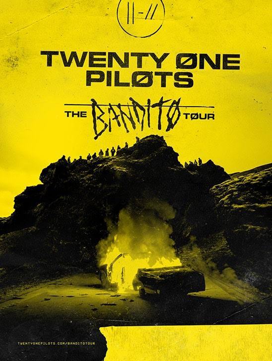 "Twenty One Pilots Announce Second Leg of ""Bandito"" Tour, Including Canadian Dates"